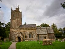 The church of Avebury Saint James, England. The church of Avebury Saint James, Wiltshire, England Royalty Free Stock Images