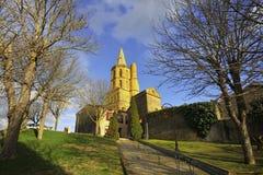 Church of Avignonet-lauragais Royalty Free Stock Photo
