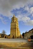Church of Avignonet-lauragais Stock Images