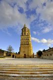 Church of Avignonet-lauragais Royalty Free Stock Image