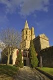 Church of Avignonet-lauragais Stock Photography