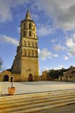 Church of Avignonet-lauragais Royalty Free Stock Images