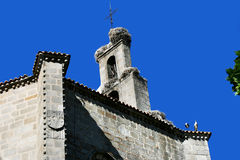 The church in Avila stock photography