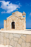 Church of Ayios Ilias. Protaras, Famagusta District, Cyprus Royalty Free Stock Images