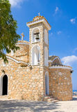 Church of Ayios Ilias. Protaras, Famagusta District, Cyprus Royalty Free Stock Photos