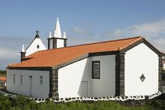 Church in Azores Royalty Free Stock Photography