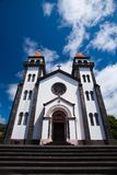 Church on Azores Stock Images