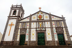 Church in Azores Islands, Portugal Royalty Free Stock Photo