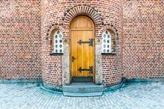 Church back door Stock Image