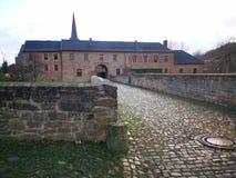Castle of kreuzau royalty free stock image