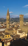 Church of the Badia Fiorentina Royalty Free Stock Photos
