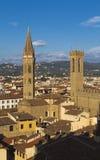 Church of the Badia Fiorentina Royalty Free Stock Photos
