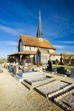 Church in Bailly-le-Franc Royalty Free Stock Image
