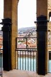 Church balkony view