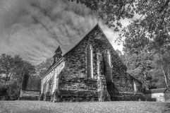 Church at Balquhidder. The Church at Balquhidder, Scotland. The local kirkyard is the final resting place of bandit and hero Rob Roy. Balquhidder was the scene Stock Photo