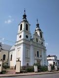 Church in Baltow, Poland. The interior of the Our Lady of Sorrows church, Baltow, Poland Stock Photo