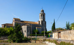 Church in Banyoles Royalty Free Stock Photo