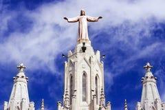 Church in Barcelona Stock Image