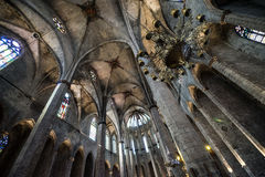 Church in Barcelona Royalty Free Stock Image