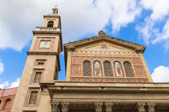 Church in Barcelona, Spain Royalty Free Stock Photography