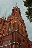 Church. A baroque style church in Lithuania Royalty Free Stock Photos