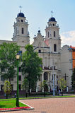 Church in baroque style Royalty Free Stock Image