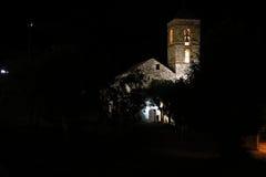 Church of Barruera n the Catalan Pyrenees. Spain Royalty Free Stock Image