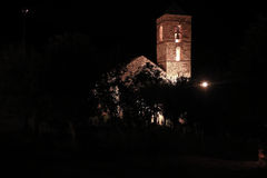 Church of Barruera n the Catalan Pyrenees. Spain Stock Images