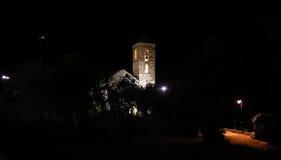 Church of Barruera n the Catalan Pyrenees. Spain Stock Image