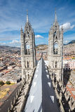 Church of Basilica del Voto Nacional, Quito, Ecuador Stock Photo