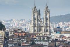 Church of Basilica del Voto Nacional, Quito, Ecuador Royalty Free Stock Photo