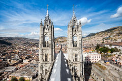 Church of the Basilica del Voto Nacional, Quito, Ecuador Royalty Free Stock Photography