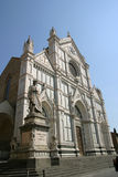 Church of basilica Santa Croce Royalty Free Stock Photography