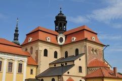 Church and basilica Velehrad,Czech stock images