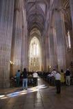 Church in Batalha monastery Stock Photos