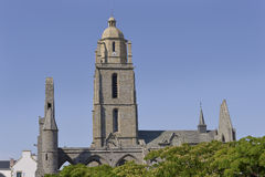 Church at Batz-sur-Mer in France Stock Photo