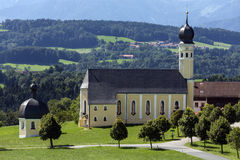 Church in Bavaria - Germany Royalty Free Stock Photography