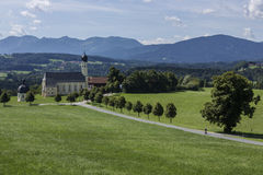 Church in Bavaria - Germany Royalty Free Stock Image