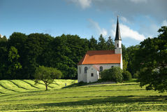 Church in the bavary Forest, Germany Royalty Free Stock Photography