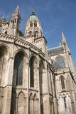 Church of Bayeux. The Church of Bayeux in nice weather Stock Photography
