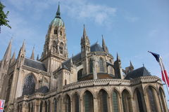 Church of Bayeux. The Church of Bayeux in nice weather Royalty Free Stock Photography