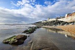 Church Beach - Lyme Regis Royalty Free Stock Image