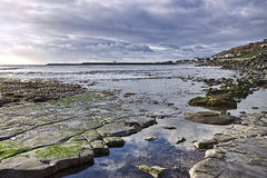 Church Beach - Lyme Regis Royalty Free Stock Photos