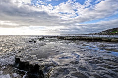 Church Beach - Lyme Regis Royalty Free Stock Photography
