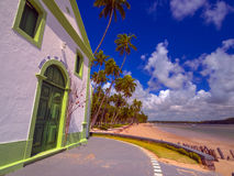 Church on the beach royalty free stock image