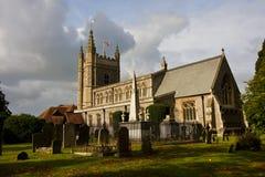 Church in Beaconsfield in Buckinghamshire, England. St Mary & All Saints Church in Beaconsfield in Buckinghamshire, England Royalty Free Stock Photography
