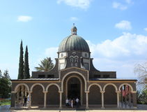Church of the Beatitudes, Sea of Galilee Royalty Free Stock Photography