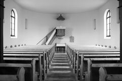 Church. This is a beautiful Hungarian chuch interior royalty free stock photos