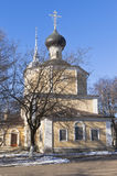 Church of the Beheading of John the Baptist in Roschene in Vologda Royalty Free Stock Photo