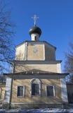 Church of the Beheading of John the Baptist in Roschene in Vologda Stock Photo